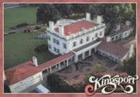 Allandale Mansion in Kingsport Tennessee USA Postcard