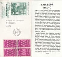 Amateur Radio Operators Anniversary 1964 First Day Cover + Ltd Card