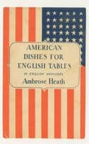 American Dishes For English Tables Ambrose Heath 1939 Book Postcard