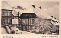 Andreasberg In Winter Lower Saxony Germany Antique Postcard