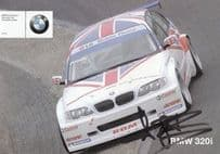Andy Priaulx BMW Touring Car Hand Signed Large Photo