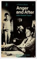 Anger & After John Russell Taylor 1963 Book Postcard