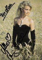 Anja Hornich Miss Germany Beauty Queen Of Europe Autograph Hand Signed Photo