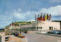 Arromanches Musee Military Museum French Postcard