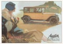 Austin Classic Car Rootes Ltd Advertising Postcard