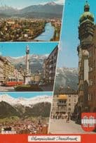 Austrian Winter Olympics Olympic Games Multi View Postcard