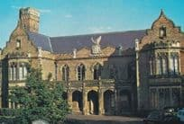 Ayscoughee Hall Gothic Entrance Stunning 1980s Lincs Lincolnshire Postcard