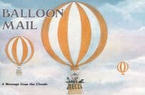 Balloon Hot Air London Exhibition Stand Invitation Advertising Postcard