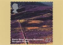 Banns Road Mourne Mountains Ireland Limited Edition Postcard
