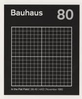 Bauhaus Of Bela Lugosi's Dead In The Flat Field LP Record Postcard