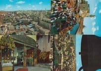 Bethlehem Market Entrance To Holy Manger Christmas Bells Aerial 4x Postcard s