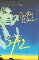 Betty Blue Le Matin Movie Poster Advertising Postcard