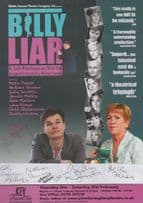 Billy Liar Musical Comedy Lauren Wilson Coronation Street 8x Hand Signed Flyer
