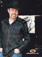Billy Yates Country & Western Singer Large Hand Signed Photo