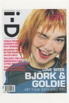 Bjork Of The Sugarcubes Magazine Cover Girl Postcard