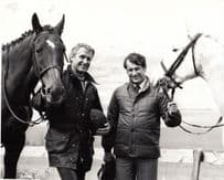 Bob Champion Horse Racing Champion Jockey Busmans Holiday Ireland TV Press Photo