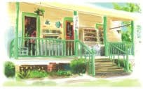 Books To Be Red North Carolina Shop Store Oil Painting Postcard