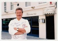 Brian Turner Celebrity Chef Television Presenter Large Hand Signed Photo