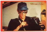 Bruce Lee In Fist Of Fury Movie Film Spectacles Glasses Postcard