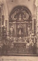 Brugge Kerk Ter Potterie Our Lady Of The Pottery Bruges Old Religious Postcard