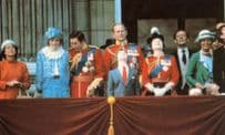 Buckingham Palace After Trooping The Colour Ceremony 1982 Postcard