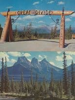 Canadian Rockies Great Divide Three Sisters 2x Canada Postcard s