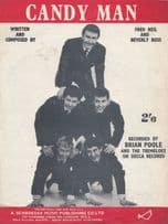 Candy Man The Tremeloes 1960s Sheet Music