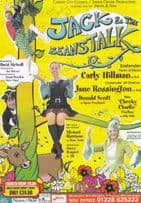 Carly Hillman Di Marco Eastenders Jack & The Beanstalk Hand Signed Theatre Flyer
