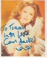 Carol Decker T'Pau Hand Signed Photo