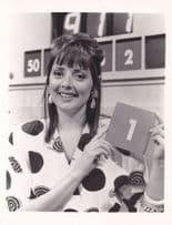 Carol Vorderman Official Large 1980s Countdown TV Show Photo