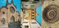 Cathedral In Ostuni 3x Italy Postcard s