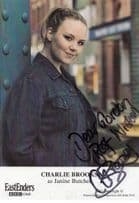 Charlie Brooks as Janine Butcher Eastenders BBC Cast Card Hand Signed Photo