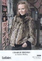 Charlie Brooks as Janine Malloy BBC Eastenders Hand Signed BBC Cast Card