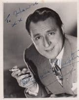 Charlie Chester Antique Small Hand Signed Photo