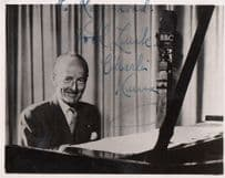 Charlie Kunz Antique Genuine Hand Signed Photo