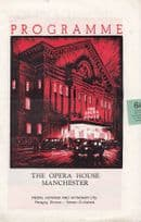 Chin Chin Chow Arab Slavery Manchester Opera House Play Old Theatre Programme