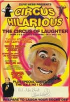 Circus Hilarious Chris Webb Tiswas Hand Signed Theatre Flyer