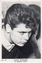 Cliff Richard In Pensive Mood Cigarette Photo  Card