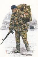 Corporal Royal Army Medical Corps South Georgia Uniform Postcard