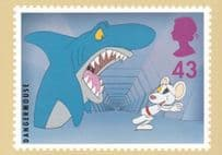 Dangermouse TV Show Limited Edition Postcard