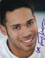 Danyl Johnson X-Factor 2009 Large Hand Signed Photo