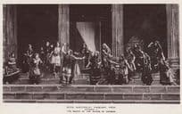 Death Of Queen Akeman 1909 Bath Pageant Old RPC Real Photo Postcard