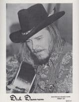 Dick Damron Canadian Guitarist Early Career Rare Publicity Media Photo