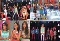Disney Violetta Italy Rare Dancers 4x Panini Photo Not Sticker Collection