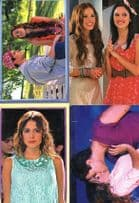 Disney Violetta Kissing 4x Panini Italy Not Stickers Photo Collection