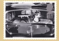 Dog Driving A Classic Car Comic Real Photo Postcard