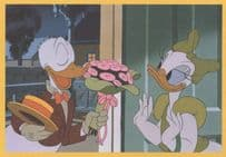 Donald Duck Double Trouble Daisy Romance Movie Still Postcard