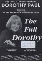 Dorothy Paul Live In Concert Hand Signed Theatre Flyer Handbill