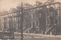 Eastbourne School Of Domestic Economy Antique Postcard