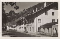 Gasthof Pension Weisses Gries Brenner Austria Real Photo Old Postcard